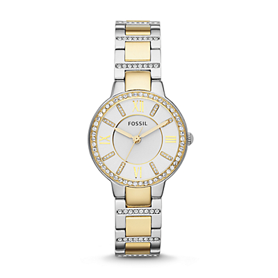 Virginia Two-Tone Stainless Steel Watch