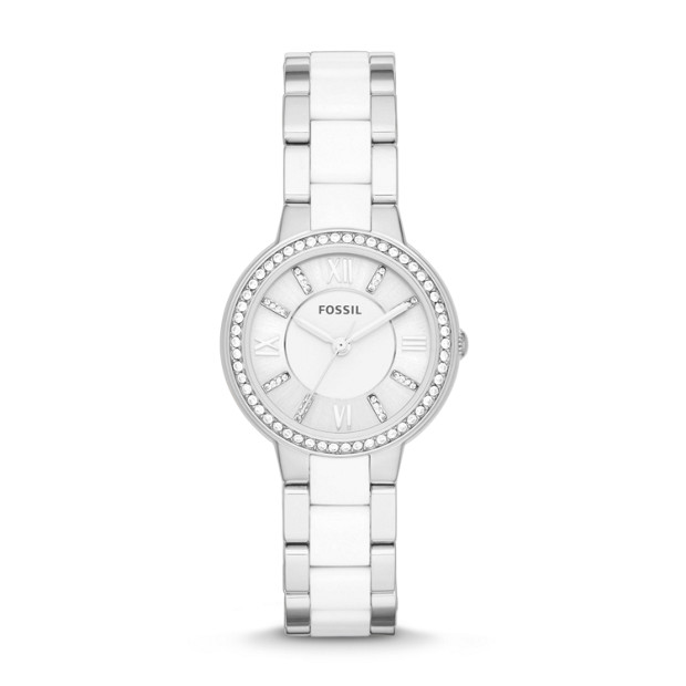 Virginia & Nylon Stainless Steel Watch