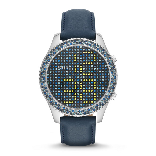 Stella Electro Tick Digital Leather Watch