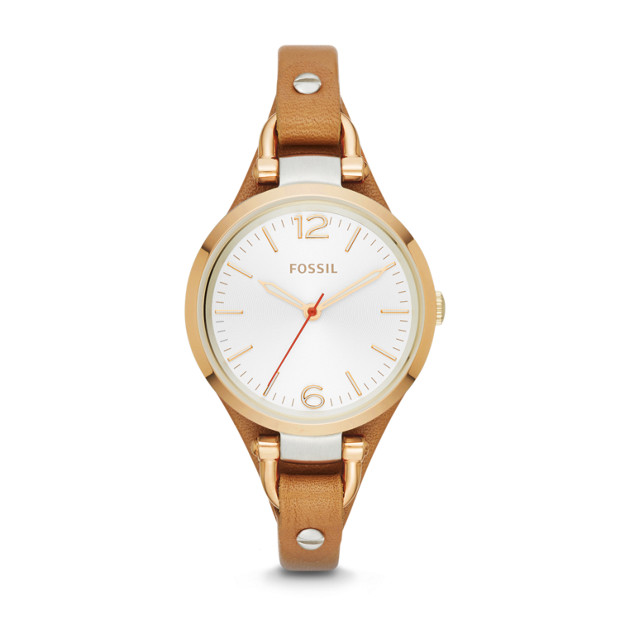 Fossil - Georgia Tan Leather Watch - 1