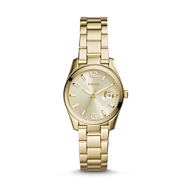 Perfect Boyfriend Mini Gold-Tone Stainless Steel Watch