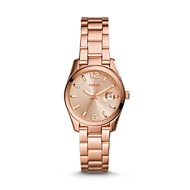 Perfect Boyfriend Mini Rose-Tone Stainless Steel Watch