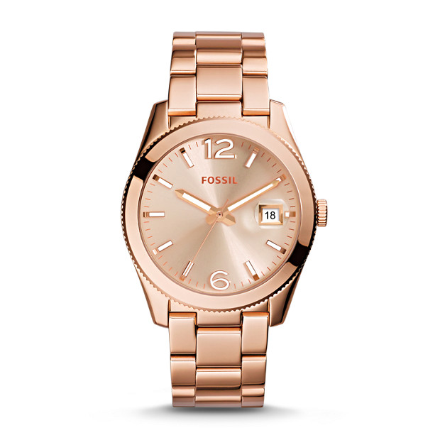 Perfect Boyfriend Rose-Tone Stainless Steel Watch