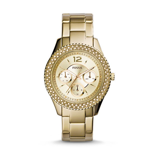 Stella Multifunction Gold-Tone Stainless Steel Watch