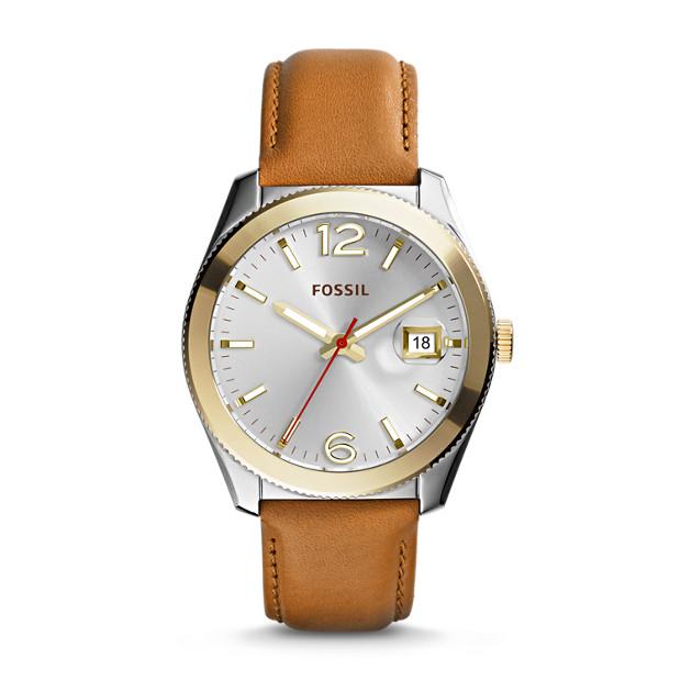 Perfect Boyfriend Tan Leather Watch
