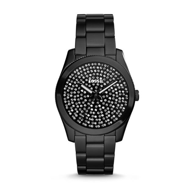 Perfect Boyfriend Black Stainless Steel Watch