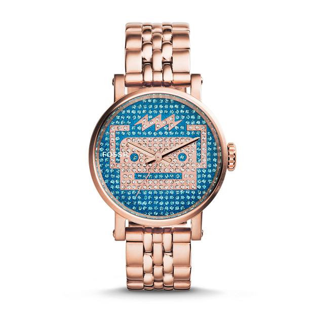 Special Edition Original Boyfriend Rose-Tone Stainless Steel Watch