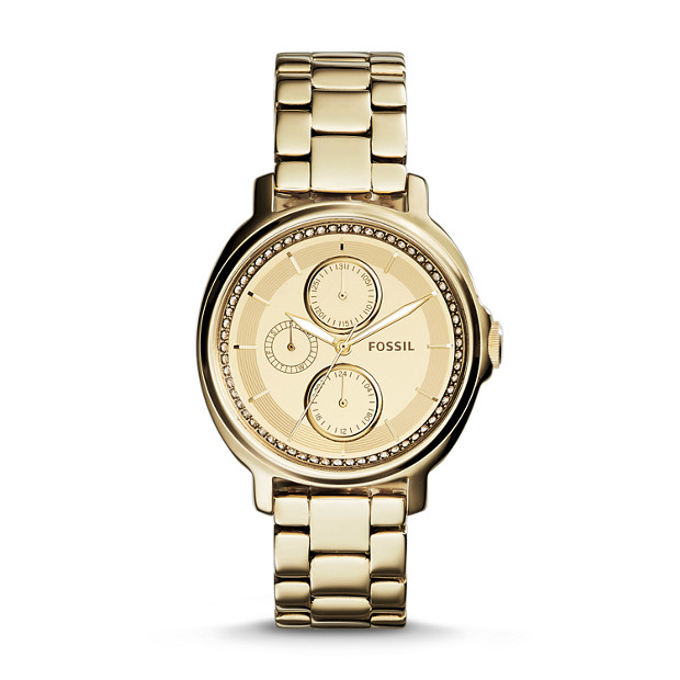 Chelsey Multifunction Gold-Tone Stainless Steel Watch