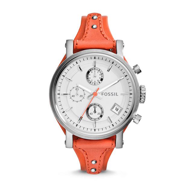 Original Boyfriend Chronograph Monarch Leather Watch