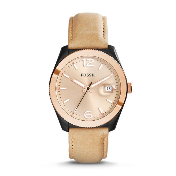 Perfect Boyfriend Sand Leather Watch