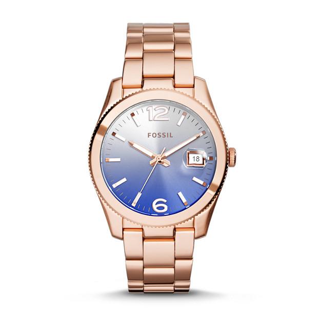 Perfect Boyfriend Rose-Tone Stainless Steel Watch