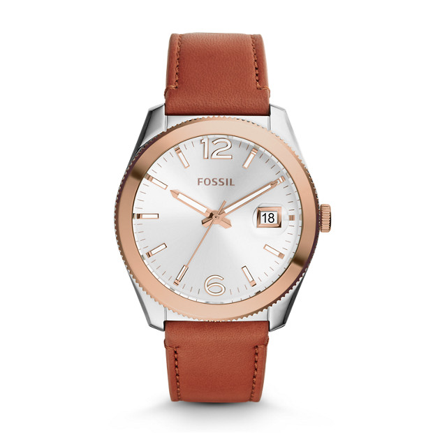 Perfect Boyfriend Cedar Leather Watch