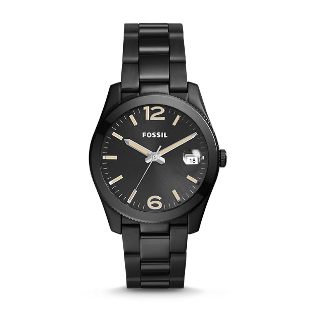 Perfect Boyfriend Black Stainless Steel Watch