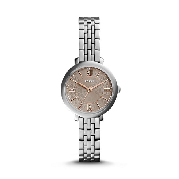 Jacqueline Mini Stainless Steel Watch