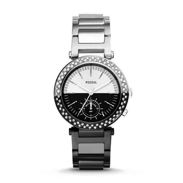 Urban Traveler Multifunction Two-Tone Stainless Steel Watch