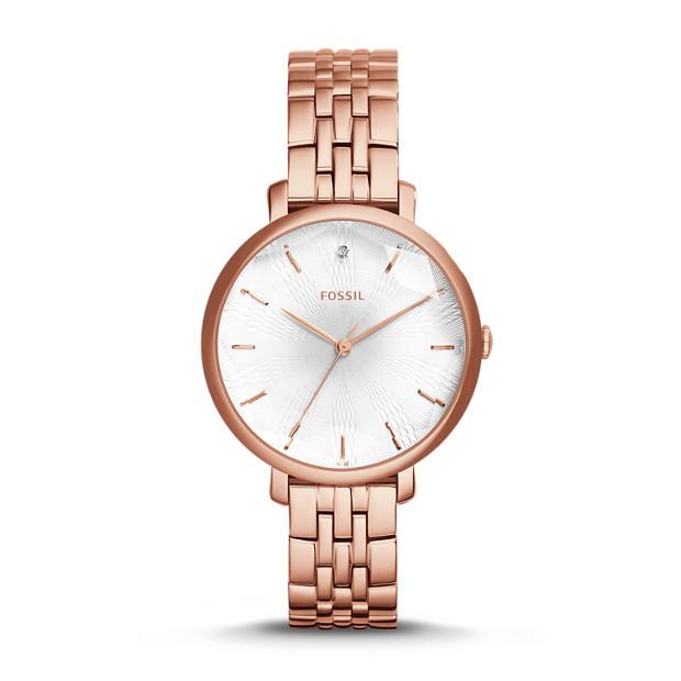 Incandesa Rose-Tone Stainless Steel Watch
