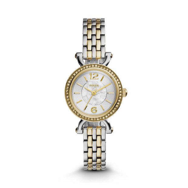 Georgia Cordell Two-Tone Stainless Steel Watch