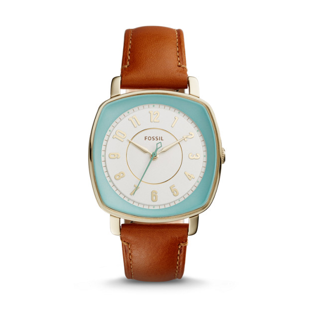Idealist Light Brown Leather Watch