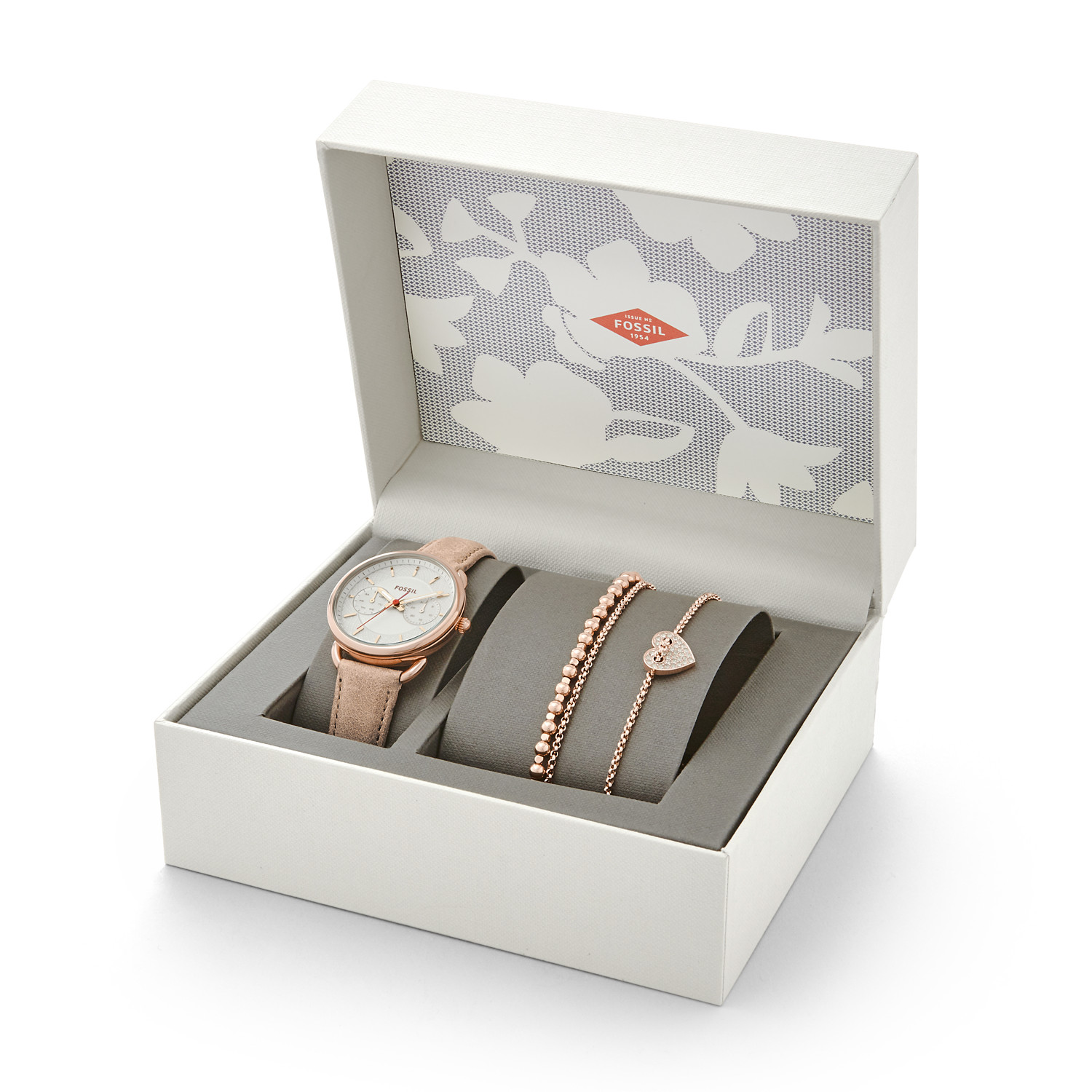 Fossil New July Edition Warung Jam Tangan Original Es3225 Wanita Tailor Es4021set