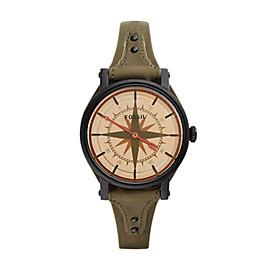 Original Boyfriend Quartz One-Hand 12-Hour Canteen Leather Watch