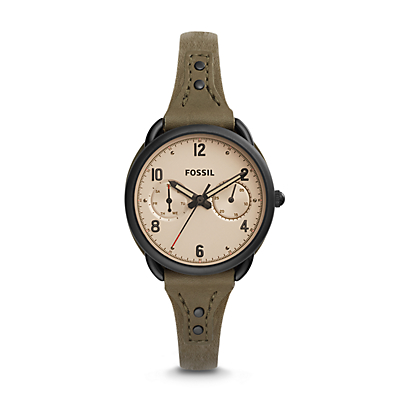 Tailor Multifunction Canteen Leather Watch