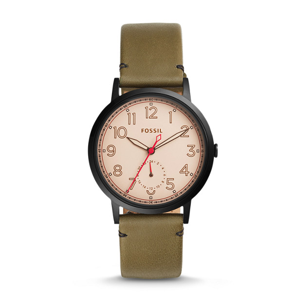 Everyday Muse Multifunction Canteen Leather Watch