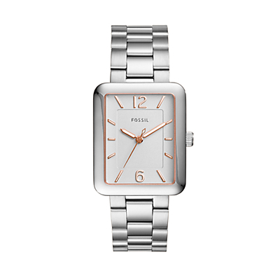 Atwater Three-Hand Stainless Steel Watch