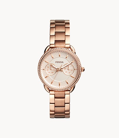 Tailor multifunction watch in rose gold-colored stainless steel Tailor multifunction watch in rose gold-colored stainless steel
