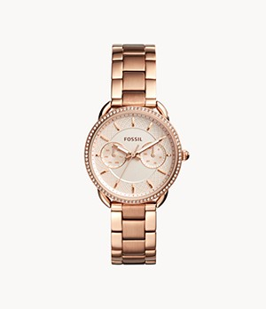 Tailor Multifunction Rose-Gold-Tone Stainless Steel Watch