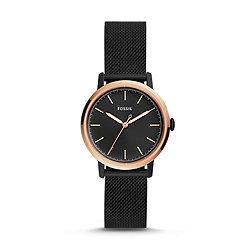 aae05a27b Neely Three-Hand Black Stainless Steel Watch