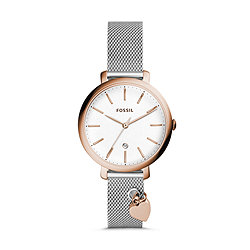 4de4e660c Jacqueline Three-Hand Date Stainless Steel Watch