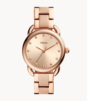 Tailor Mini Three-Hand Rose Gold-Tone Stainless Steel Watch