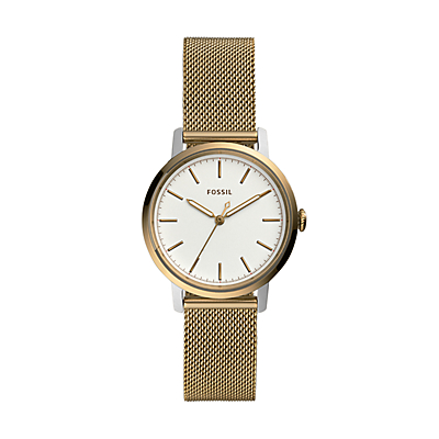 Neely Three-Hand Antique Gold-Tone Stainless Steel Watch