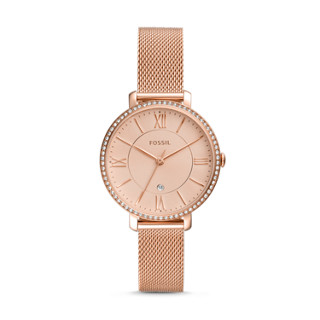c759b573c Jacqueline Three-Hand Date Rose Gold-Tone Stainless Steel Watch
