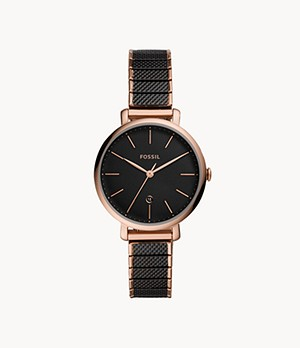 Jacqueline Three-Hand Two-Tone Stainless-Steel Watch