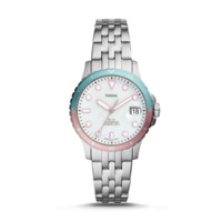 Fossil FB-01 Three-Hand Date Stainless Steel Women's Watch