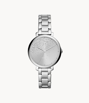 Jacqueline Three-Hand Stainless-Steel Watch