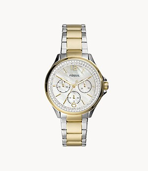 Sadie Multifunction Two-Tone Stainless Steel Watch