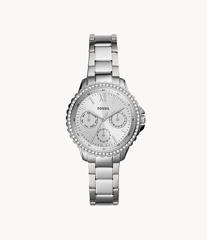 Fossil Izzy Multifunction Stainless Steel Watch