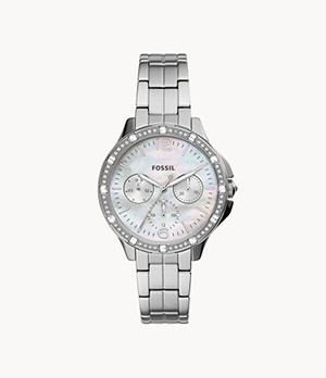 Finley Multifunction Stainless Steel Watch