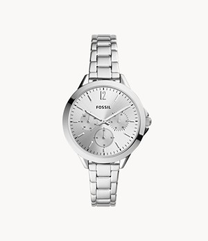 Alyssa Multifunction Stainless Steel Watch
