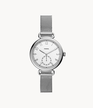 Josey Three-Hand Stainless Steel Watch