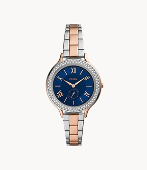 Neomi Three-Hand Two-Tone Alloy Watch