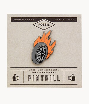 Pintrill® x Fossil Wheel Pin