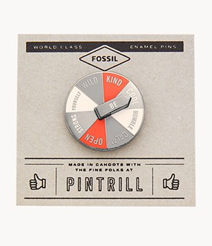 Pintrill® x Fossil Spinner Pin