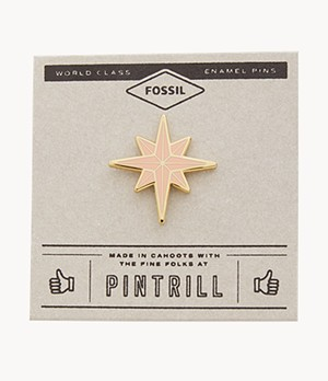 Pintrill® x Fossil Modern and Magic North Star Pin
