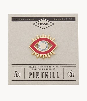 Pintrill® x Fossil Modern and Magic Evil Eye Pin