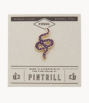 Pintrill® x Fossil Modern and Magic Serpent Pin