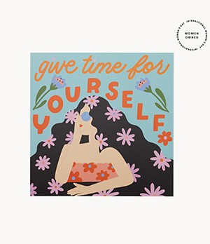 Give Time To Yourself Poster by Have A Nice Day