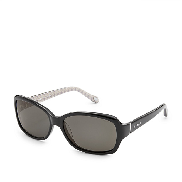 Lynn Polarized Rectangle Sunglasses